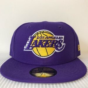 New Era 5950 Los Angeles Lakers Fitted Hat